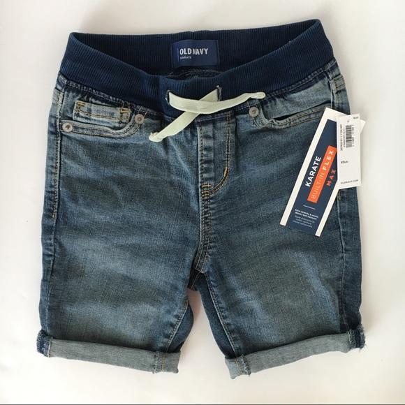 b5450291ab3 Old Navy boys  Karate Rib-Waist Flex jean shorts 5